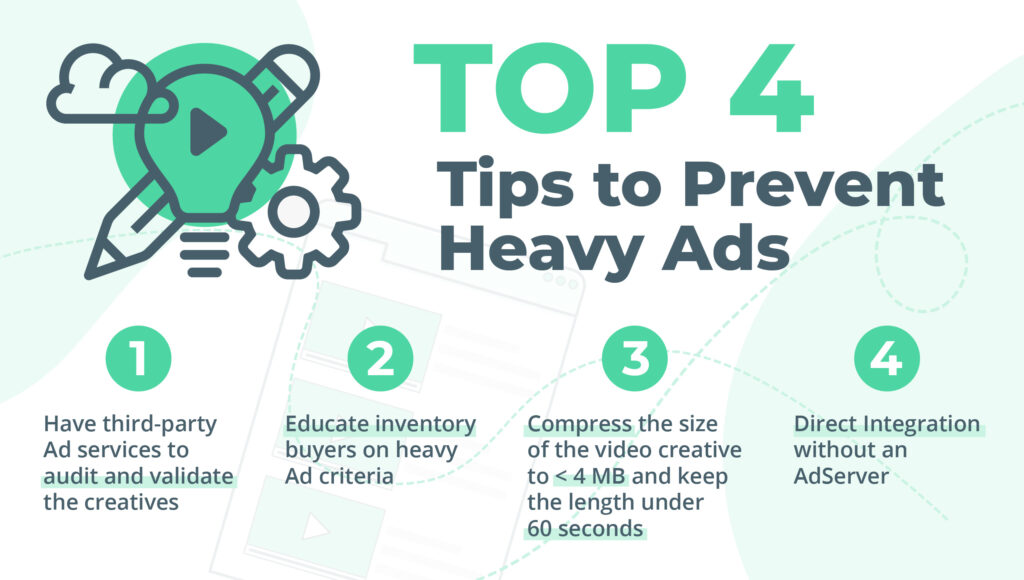 The Top 4 Tips to prevent heavy ads are explained